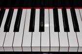Piano toetsen — Stockfoto