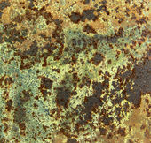 Texture of rusted metal — Stock Photo