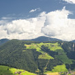 Stock Photo: Small villages scattered in South Tyrol