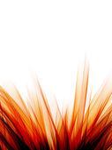 абстрактный фон с оранжевой дым градиент — Стоковое фото