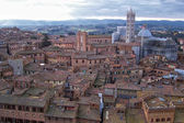 Overview of Siena — Stock Photo