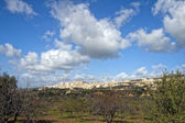 Panoramica della città di agrigento — Foto Stock