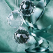 Glass Christmas balls — Stock Photo