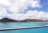 Karibiku port — Stock fotografie