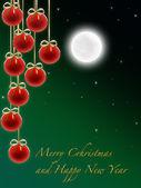 圣诞快乐,新年快乐 2 — 图库照片
