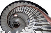 Ancient spiral staircase — Stock Photo