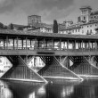 Stock Photo: Old bridge of Bassano del Grappa