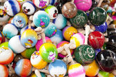 Colorful maracas in the market of Otavalo — Foto Stock