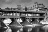 Old bridge of Bassano del Grappa — Stock Photo
