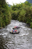 Rafting in Ecuador — Stock Photo