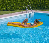 Relaxation pool — Stock Photo