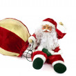 Stock Photo: Santa Claus doll