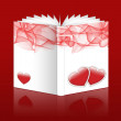 Stock Photo: Valentine book
