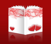 Valentine book — Stock Photo