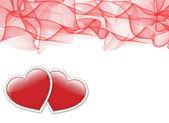 Valentine Day ticket — Stock Photo