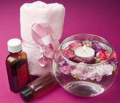 Prodotti profumati per la cura del corpo — Foto Stock
