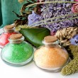 Colored bath salts 3 — Stock Photo