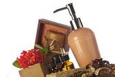 Produtos de limpeza do corpo — Foto Stock