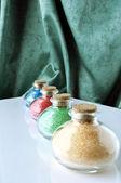 Colored bath salts 1 — Stock Photo