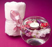 Scented products for body care — Stock Photo