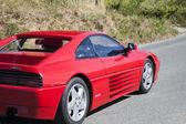 Ferrari red — Stock Photo