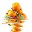 Stock Photo: Clementine mandarins