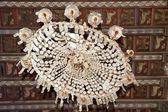 Antique chandelier Coppedè — Stock Photo