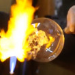 Glassblower at work — Stock Video #30666261