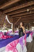 Wedding planner on the beach — Stock Photo