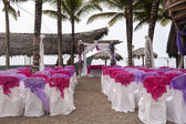 Wedding at the beach in Ecuador — Stock Photo