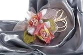 Elegantní svatební laskavosti — Stock fotografie