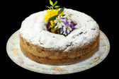 Easter cake with homemade  — Stock Photo