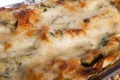 Lasagna with zucchini — Stock Photo