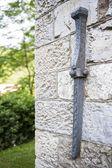 Внешние детали tercesi замок — Стоковое фото