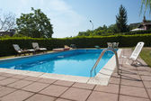 Swimming pool  of a private home — Стоковое фото