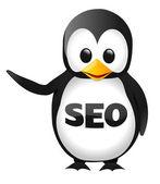 SEO Penguin — Stock Vector