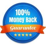 100% dinheiro de volta garantia — Vetor de Stock  #38374877