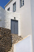 Architecture of Spestes island, Greece — Stock Photo