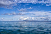 Great sea and sky in Sithonia, Chalkidiki, Greece — Stock Photo