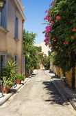 A neighborhood in Plaka area, Athens, Greece — Stock Photo