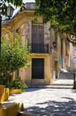 An old neoclassical building in Plaka area, Athens, Greece — Stock Photo