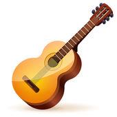 Guitarra acústica — Vetorial Stock