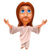 Image of jesus — Stock Vector