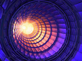 Inside the collider or tunnel — Stock Photo