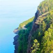 Kind of lake of Baikal from mountains — Stock Photo