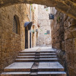 Acre. Old town streets — Stock Photo