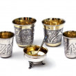 Silver wine cups — Stock Photo #28528645