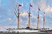 Sailing ship Esmeralda. — Stock Photo