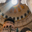 Jerusalem. Rotunda and Aedicule in Holy Sepulchre Church — Stock Photo