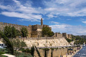 Jerusalem. The Old city wals — Foto de Stock